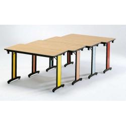 Table rectangle pliante