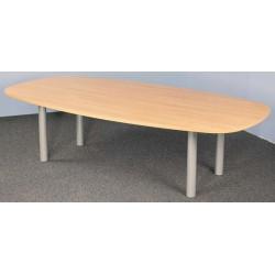 Table tonneau courbe